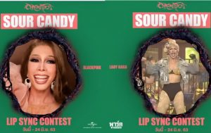 "กิจกรรม ""Sour Candy Lip Sync Contest!"" ของ ""Lady Gaga"" และ ""BLACKPINK"""